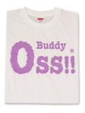 Tシャツ OSS!! Buddy 白