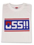 Tシャツ OSS!! スポーティ 白