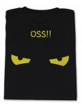 Tシャツ OSS!! アイコンタクト 黒