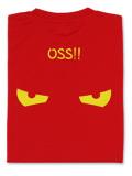 Tシャツ OSS!! アイコンタクト 赤