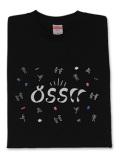 Tシャツ JK OSS!! 黒