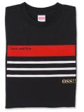 Tシャツ OSS!! ニース 黒