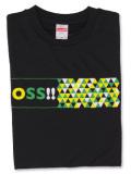 Tシャツ OSS!! スクエア 黒