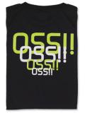 Tシャツ OSS!! スタイリッシュ 黒