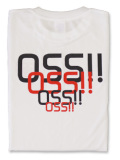 Tシャツ OSS!! スタイリッシュ 白