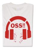 Tシャツ OSS!! Music 白