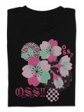 Tシャツ OSS!! 桜2021 黒