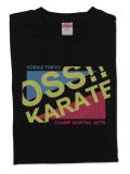 Tシャツ OSS!! おしゃれ風 黒