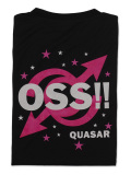 Tシャツ OSS!! クエーサー 黒