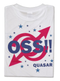 Tシャツ OSS!! クエーサー 白