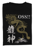 Tシャツ OSS!! 龍神 黒