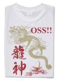 Tシャツ OSS!! 龍神 白