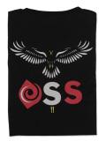 Tシャツ OSS!! はやぶさ 黒