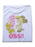 OSS!! 虎 Tシャツ 白