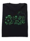 OSS!! カメレオン Tシャツ 黒