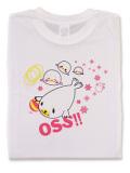 Tシャツ OSS!! アザラシ 白