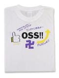Tシャツ OSS!! SNS 白