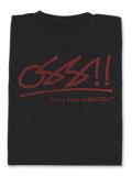 Tシャツ OSS!! オスーテェー 黒