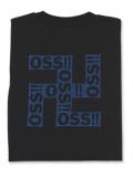 Tシャツ OSS!! まんじ 黒