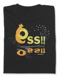 Tシャツ OSS!! キタキツネ 黒