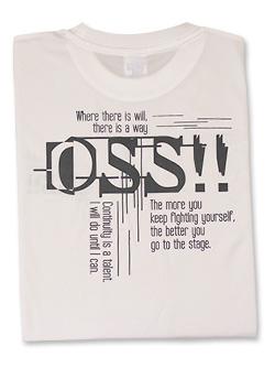 Tシャツ OSS サイバー 白