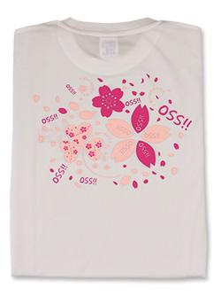 Tシャツ OSS!!サクラ咲く 白
