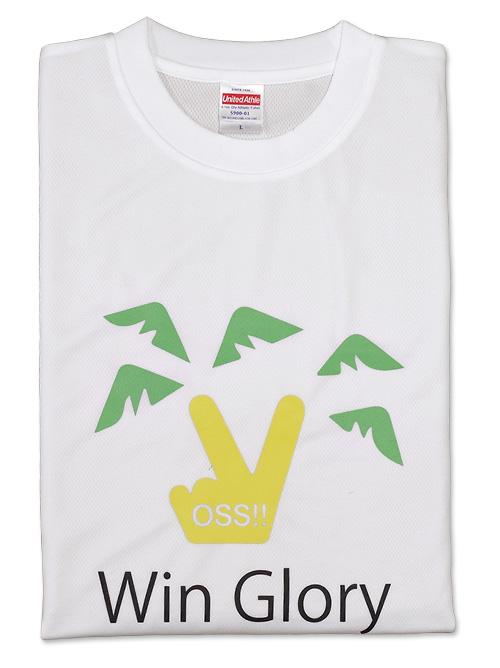 Tシャツ WIN GLORY 白