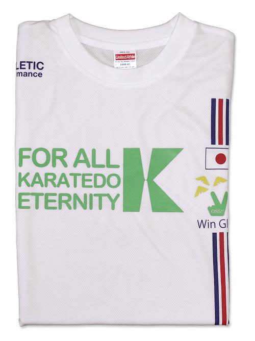 Tシャツ ナショナル風 白