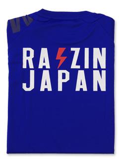 2018 JKF×デサント JAPAN Tシャツ (ブルー)