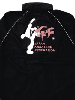 JKF KICK ジャンパー【フードインタイプ】 (黒)