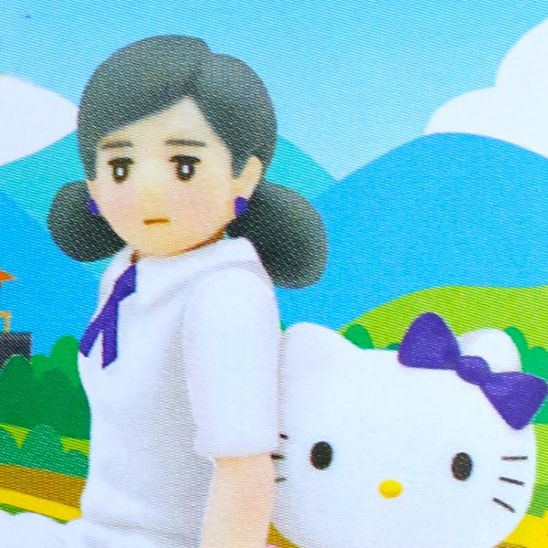 コップのフチ子とハローキティ 四国限定ver「四国遍路」 【BOX売り:12個入り】