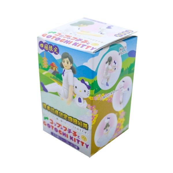 コップのフチ子とハローキティ 四国限定ver「四国遍路」 【BOX売り:13個入り】