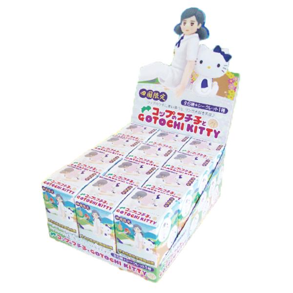コップのフチ子とハローキティ 四国限定ver「四国遍路」 【BOX売り:15個入り】