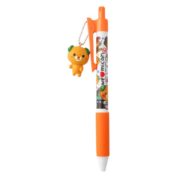 みきゃんフィギュア付ボールペン