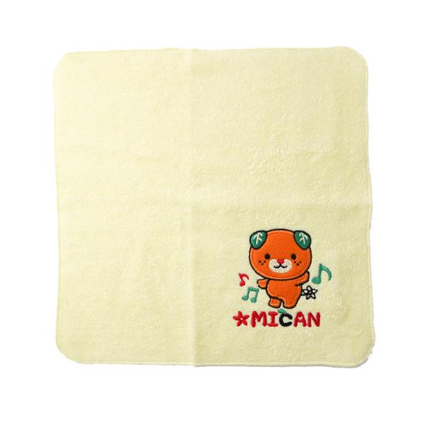 みきゃん刺繍ハンドタオル