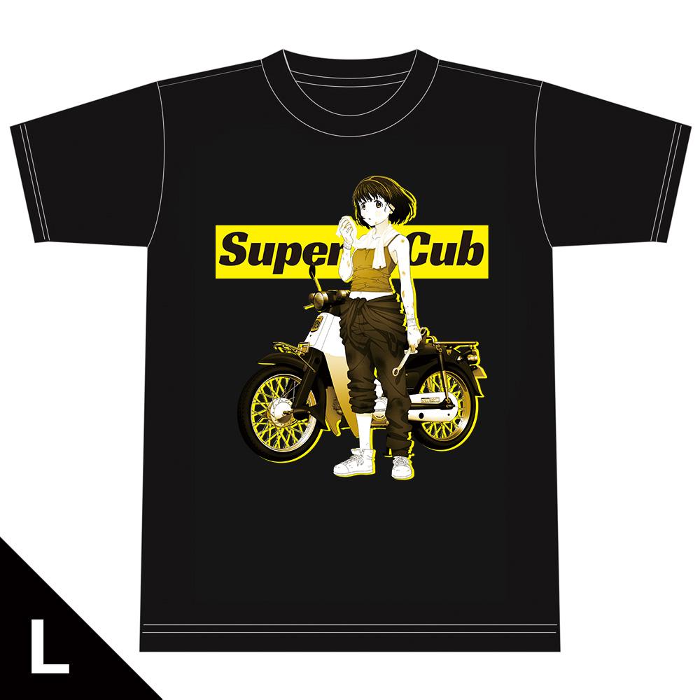 スーパーカブ Tシャツ[小熊] Lサイズ