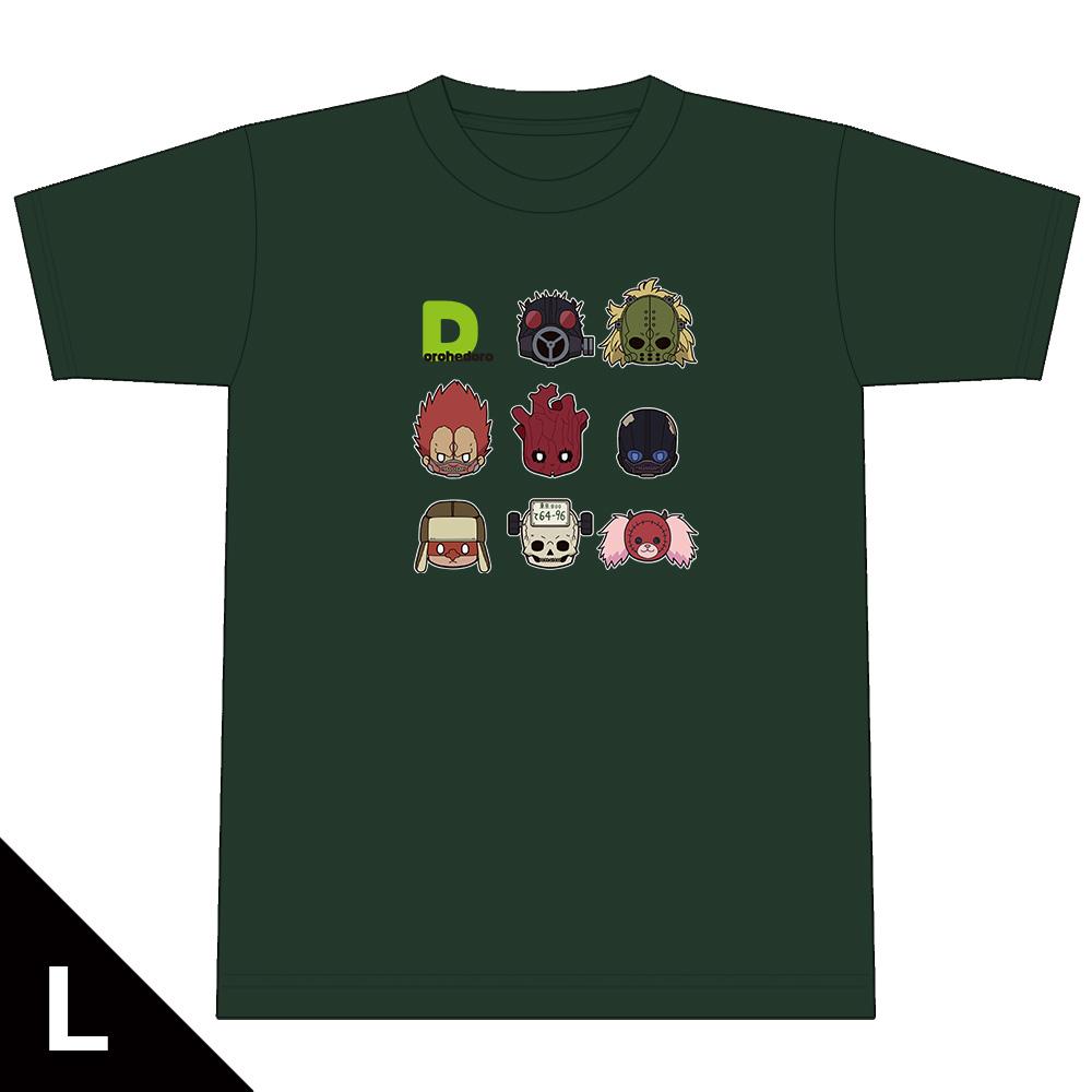 ドロヘドロ ちゅるキャラTシャツ  Lサイズ