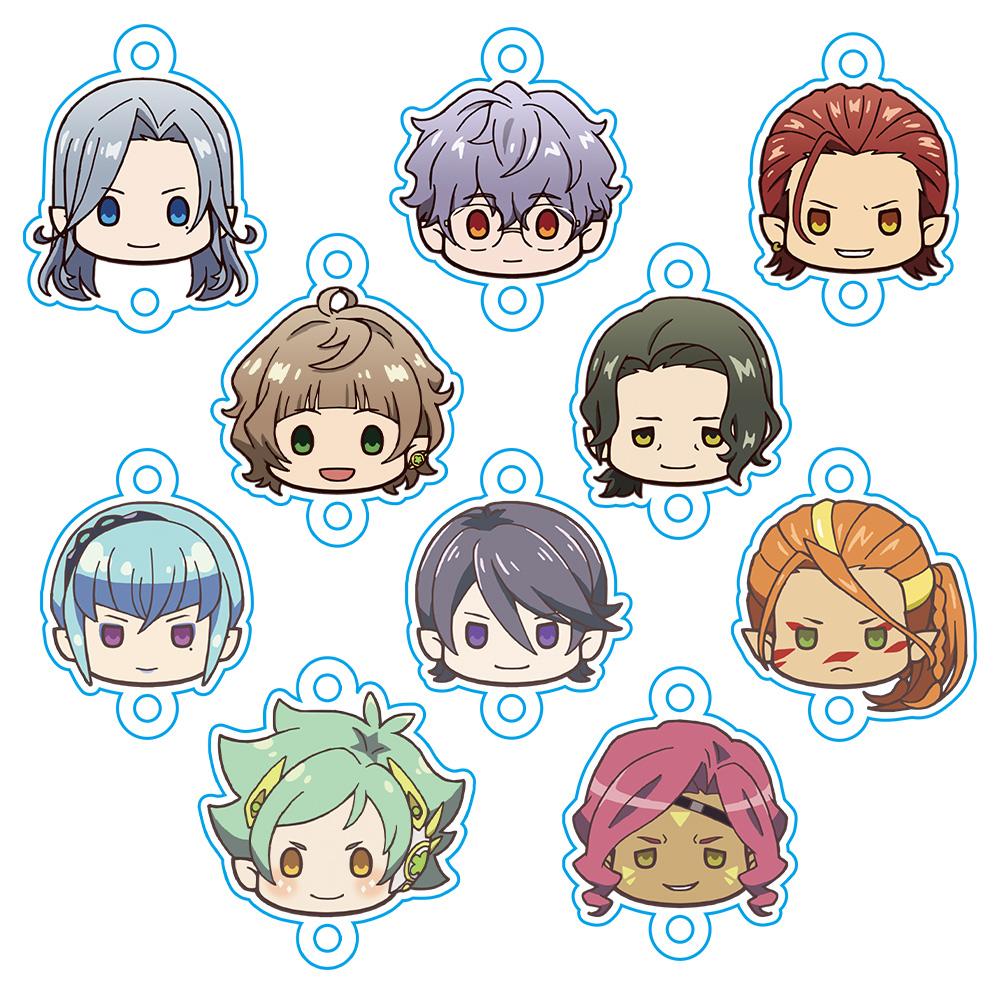 Fairy蘭丸~あなたの心お助けします~ ちゅるキャラ れんけつ!キーホルダー(BOX)