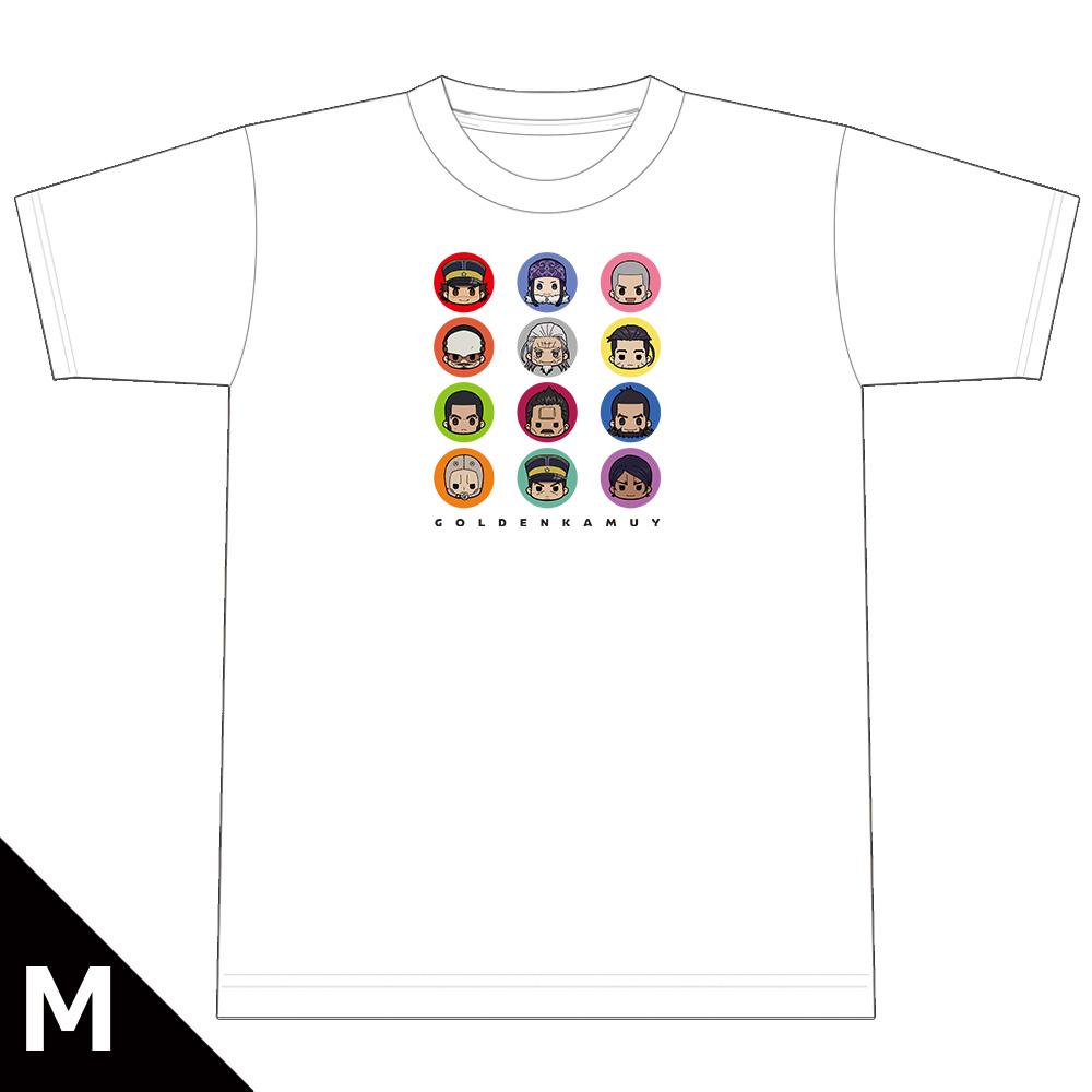 ゴールデンカムイ ちゅるキャラTシャツ Mサイズ