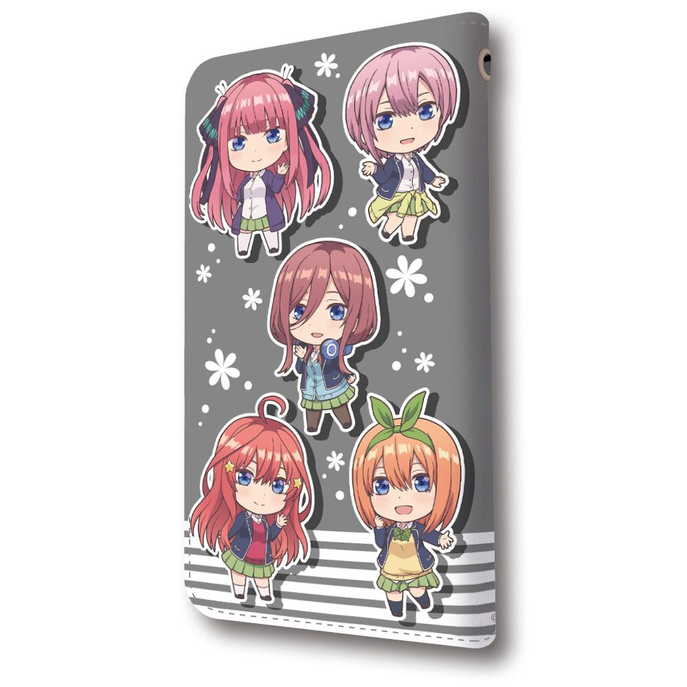 五等分の花嫁 手帳型スマートフォンケースB