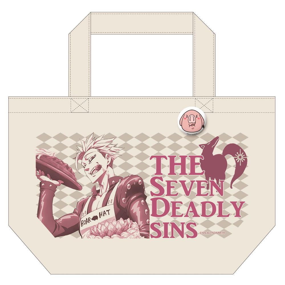 七つの大罪 戒めの復活 缶バッジ付トートバッグ