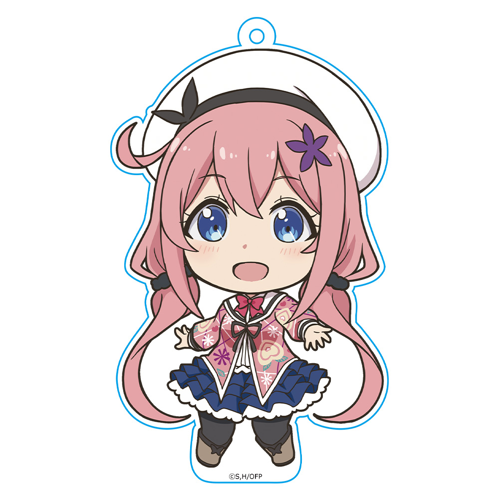 おちこぼれフルーツタルト ぷにこれ!キーホルダー(スタンド付) 桜 衣乃