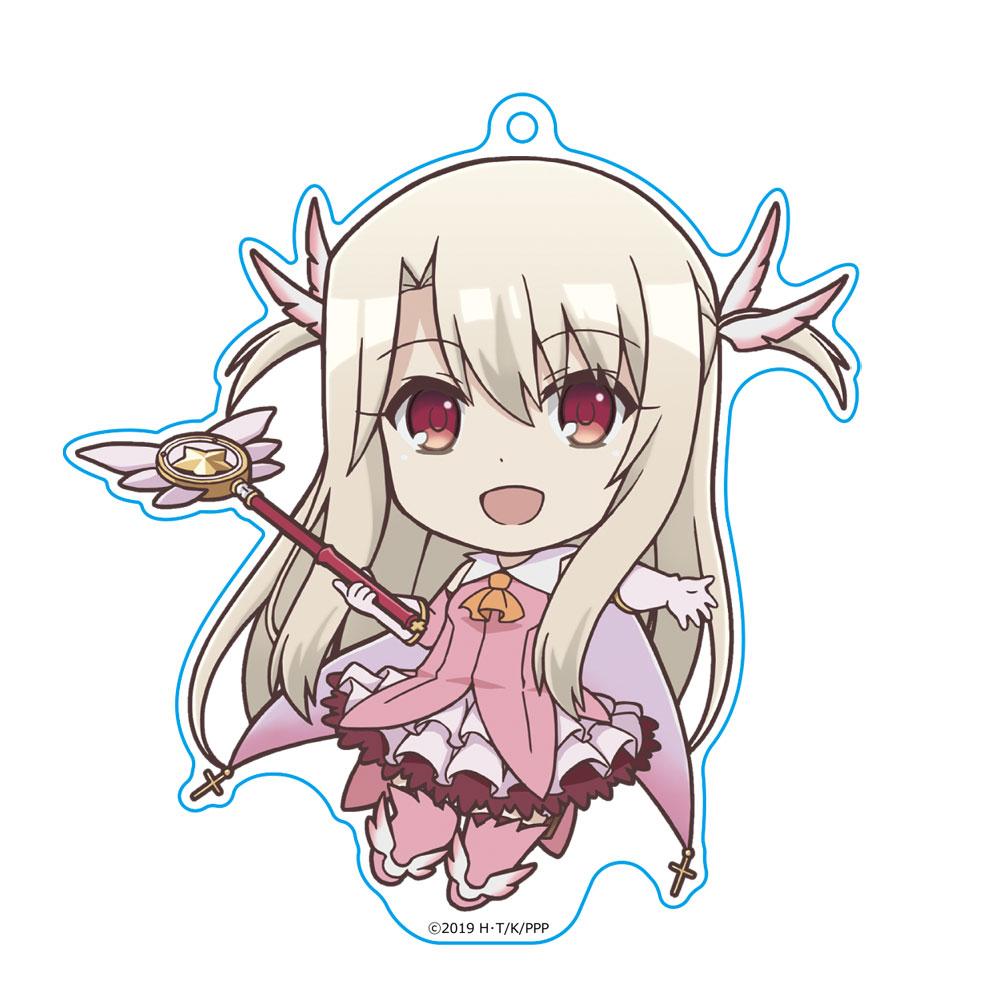 Fate/kaleid liner Prisma☆Illya プリズマ☆ファンタズム ぷにこれ!キーホルダー(スタンド付) イリヤ