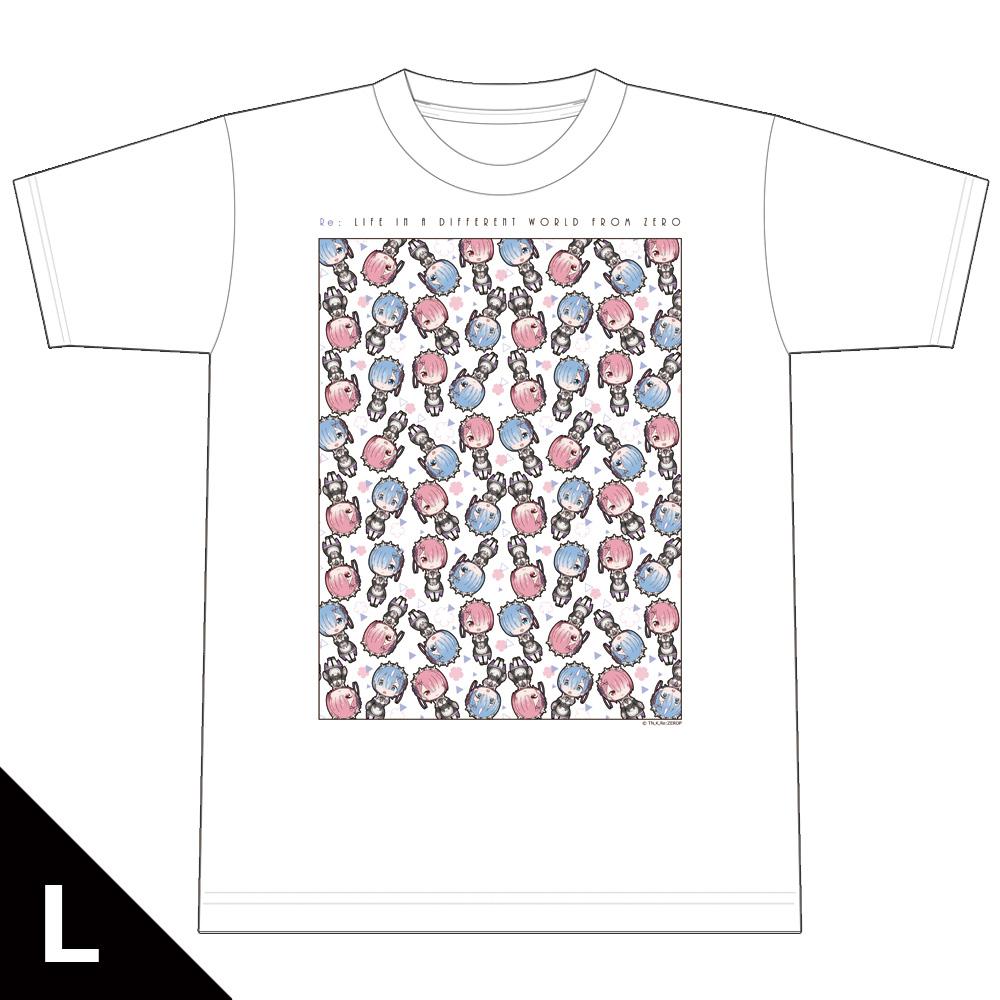 Re:ゼロから始める異世界生活 Tシャツ Lサイズ