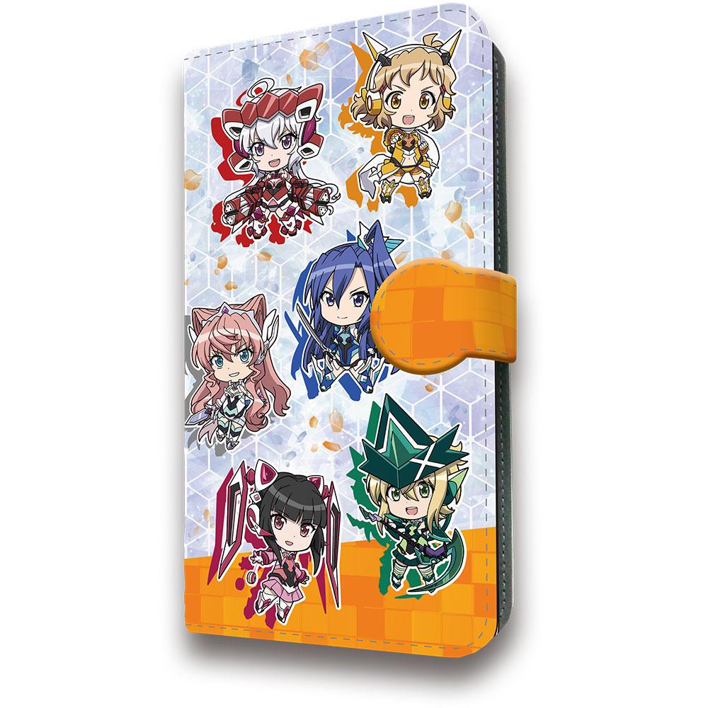 戦姫絶唱シンフォギアXV 手帳型スマートフォンケース