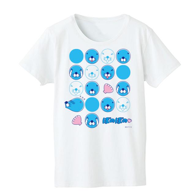 ぼのぼの Tシャツ レディースフリーサイズ