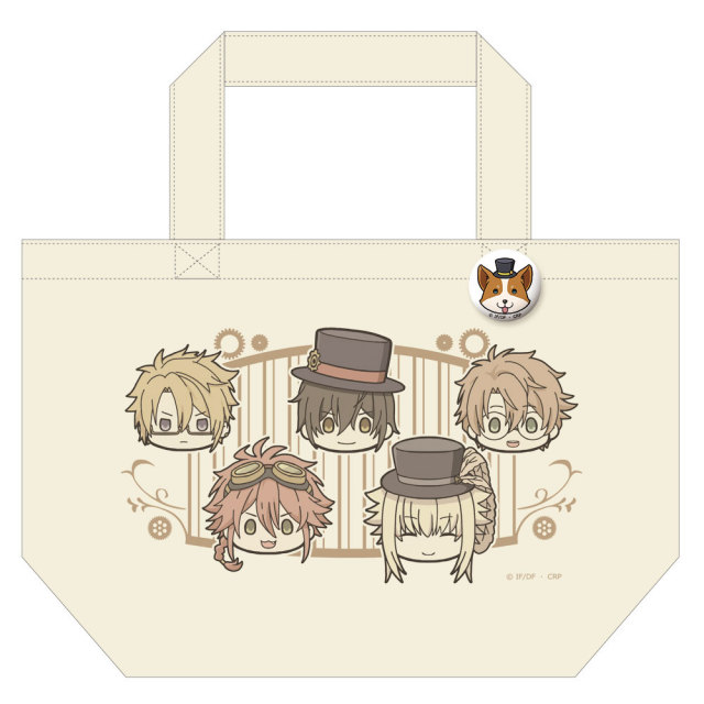 TVアニメ「Code:Realize ~創世の姫君~」 缶バッジ付トートバッグ
