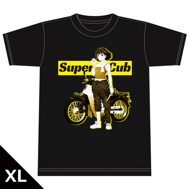 スーパーカブ Tシャツ[小熊] XLサイズ
