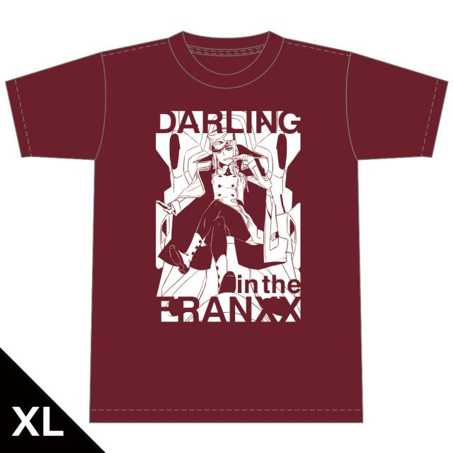 ダーリン・イン・ザ・フランキス Tシャツ[ゼロツー] XLサイズ