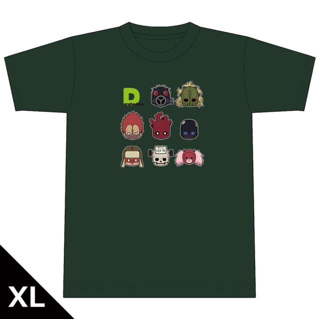 ドロヘドロ ちゅるキャラTシャツ  XLサイズ